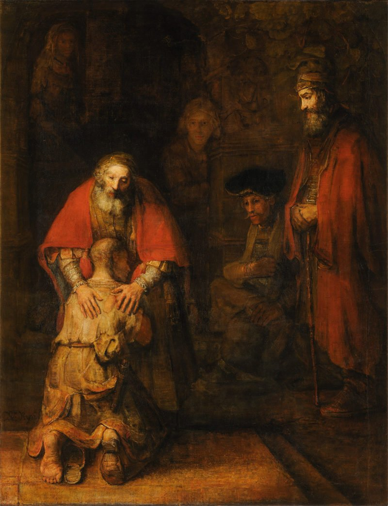 rembrandt the return of the prodigal son 1