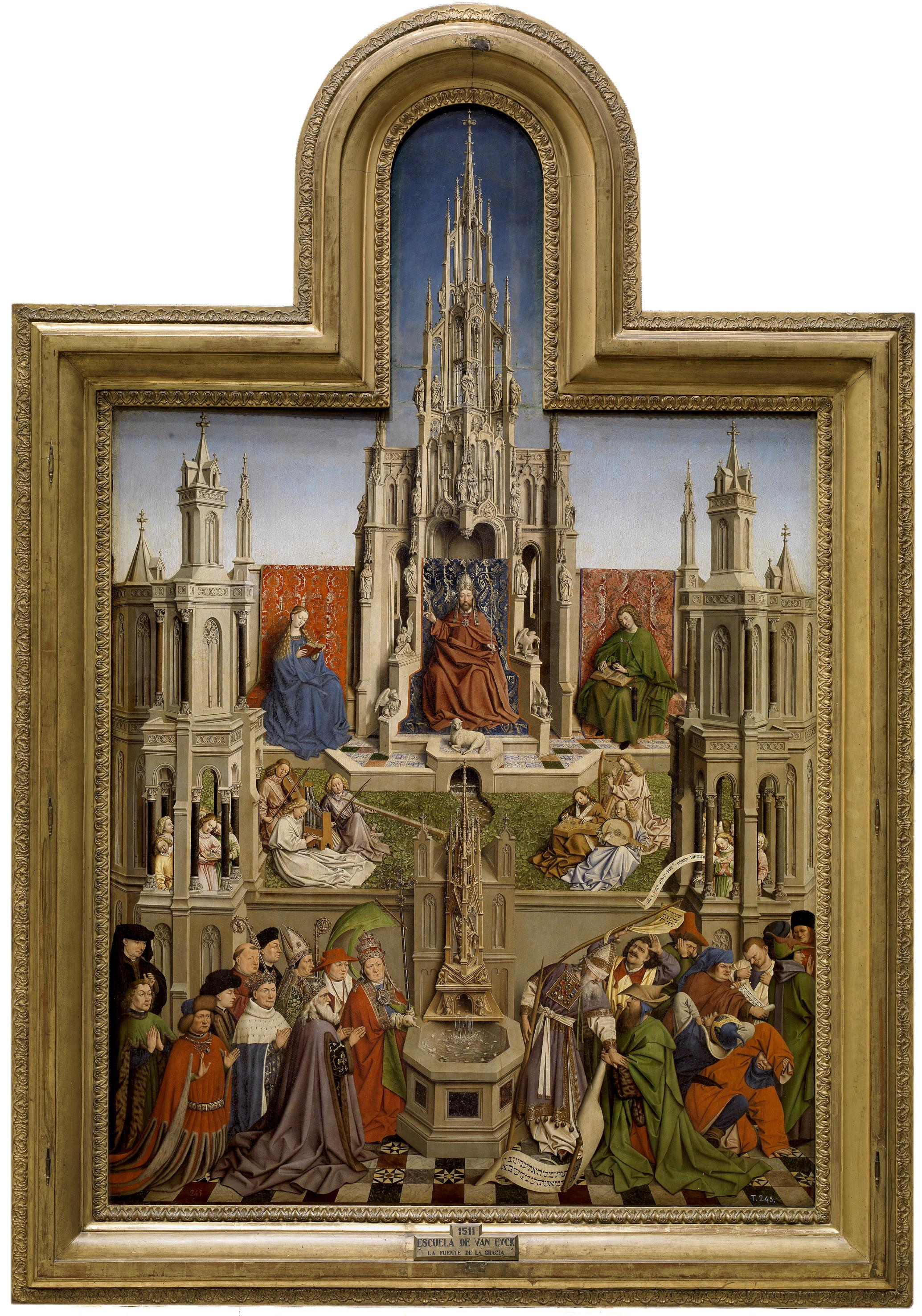 the fountain of life after van eyck 2