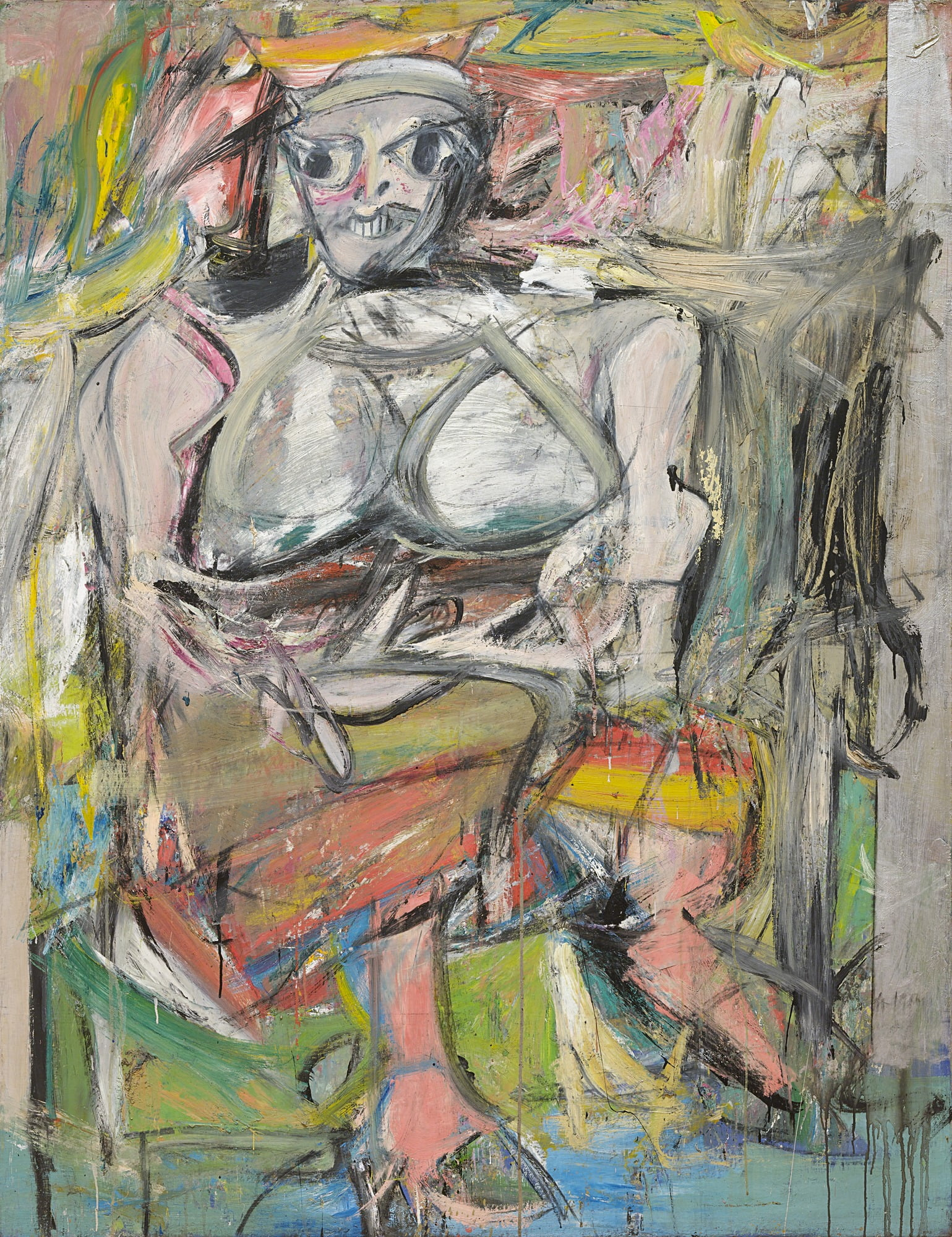 willem de kooning woman i 1950 52