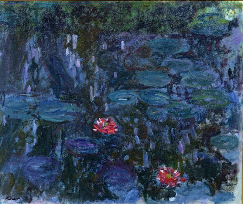 nympheas reflets de saule 1916 19
