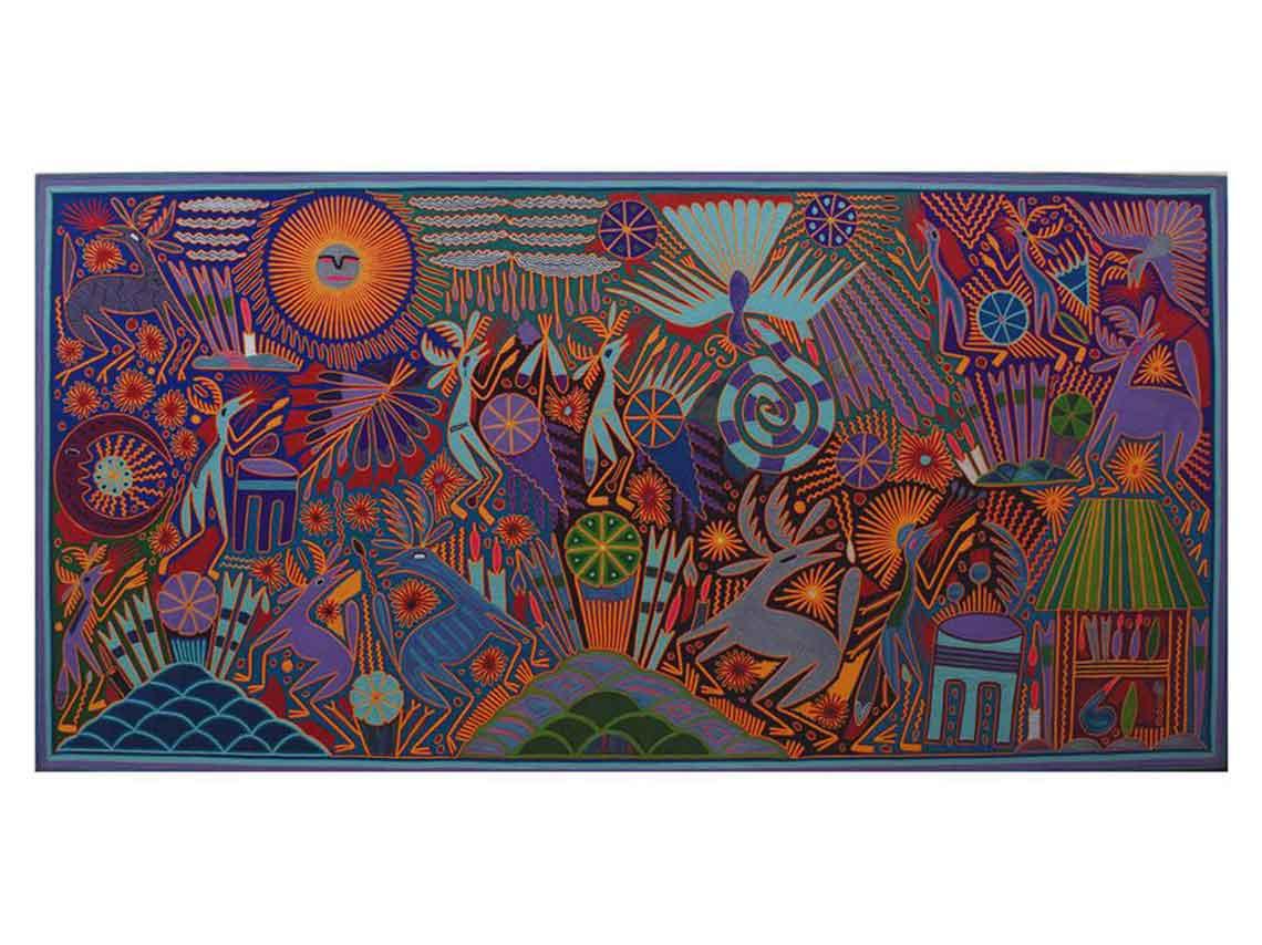 bienal arte huichol en mexico 04