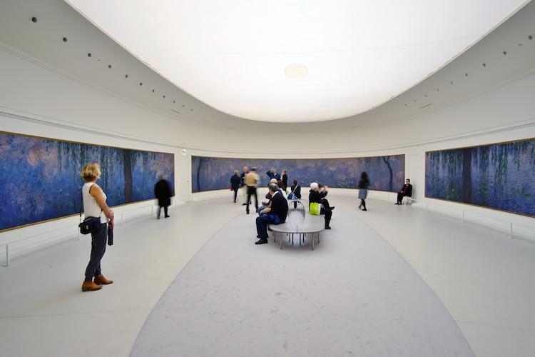 the musee de lorangerie museum in paris photo eqroy via shutterstock
