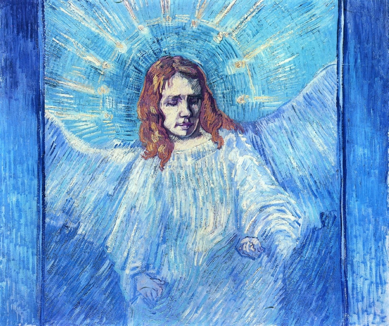 vincent van gogh head of an angel
