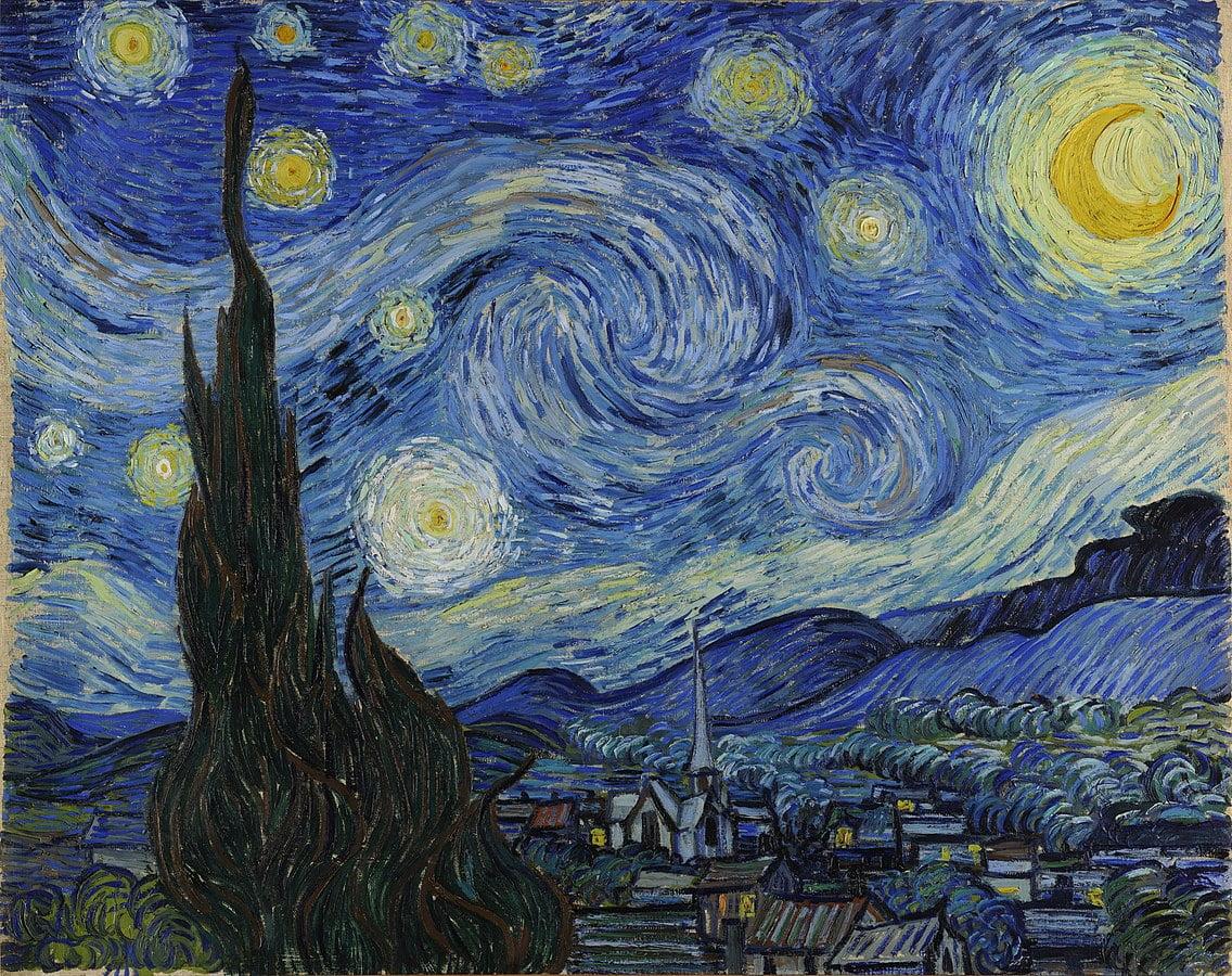 Vincent-van-Gogh-noche-estrellada