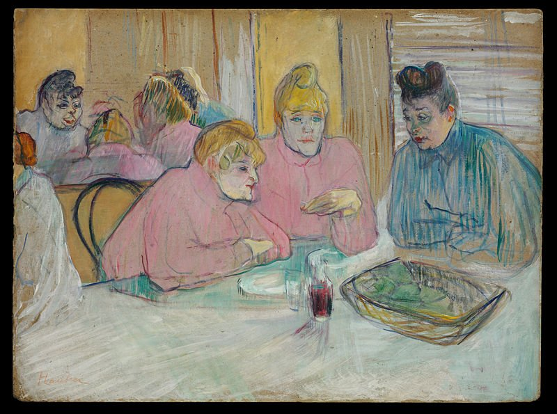800px henri de toulouse lautrec   the ladies in the dining room   google art project