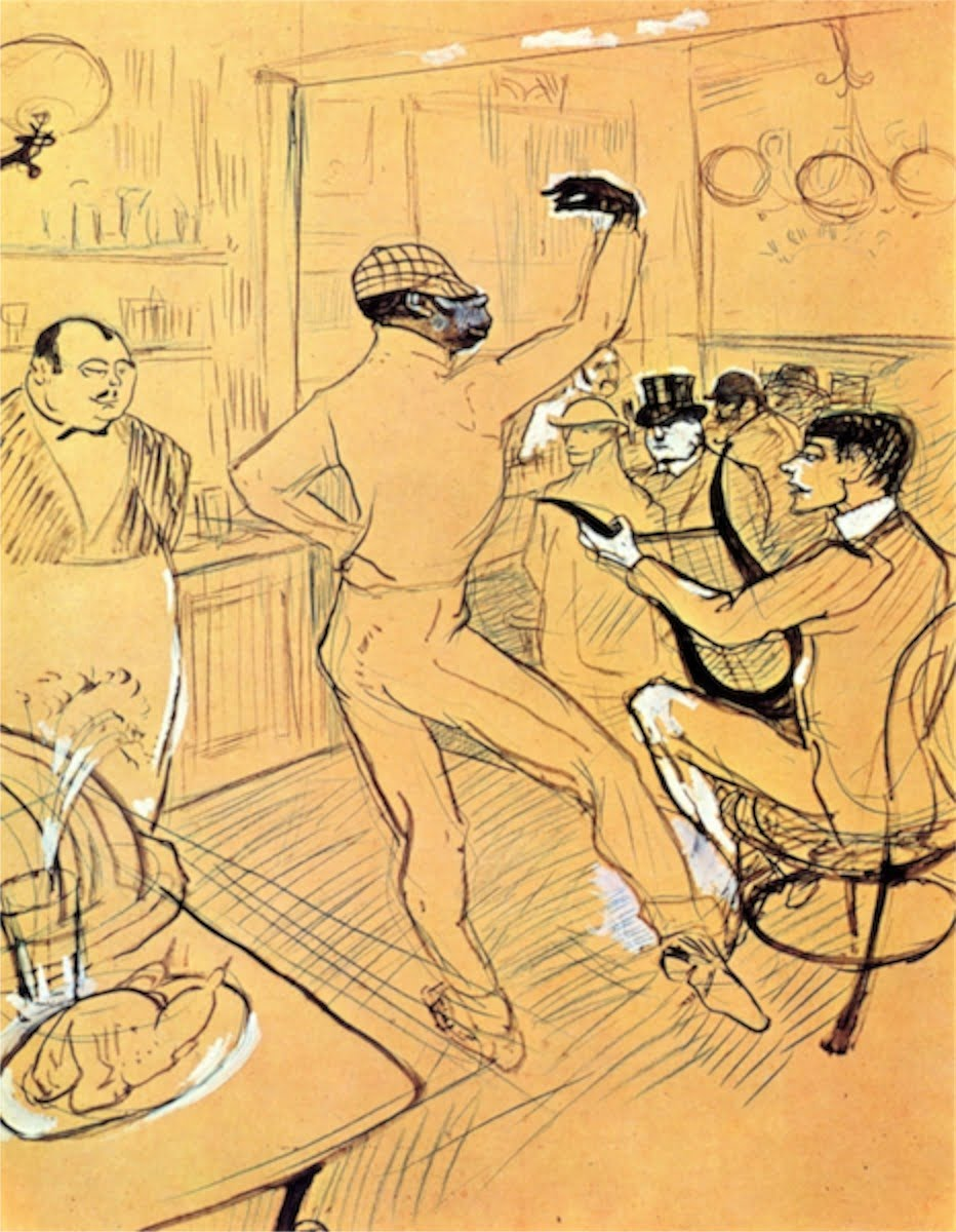 chocolat dance by toulouse lautrec
