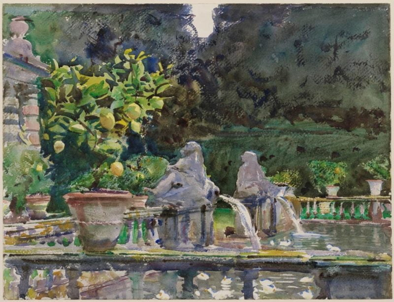 08cfe7a4 hearst foundation evening for educators john singer sargent the watercolors calendar the museum of fine arts houston