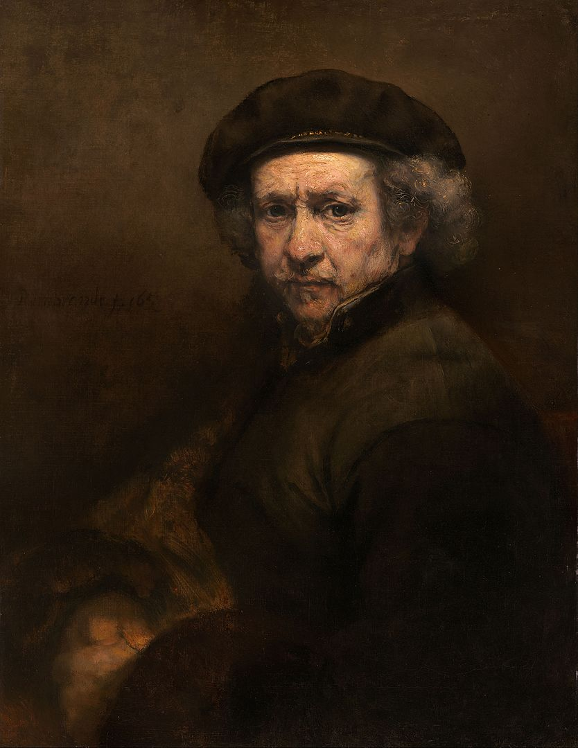 834px rembrandt van rijn   self portrait   google art project