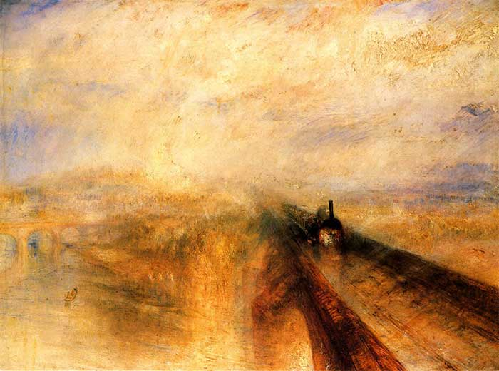 j m w turner rain steam and speed the great western railway