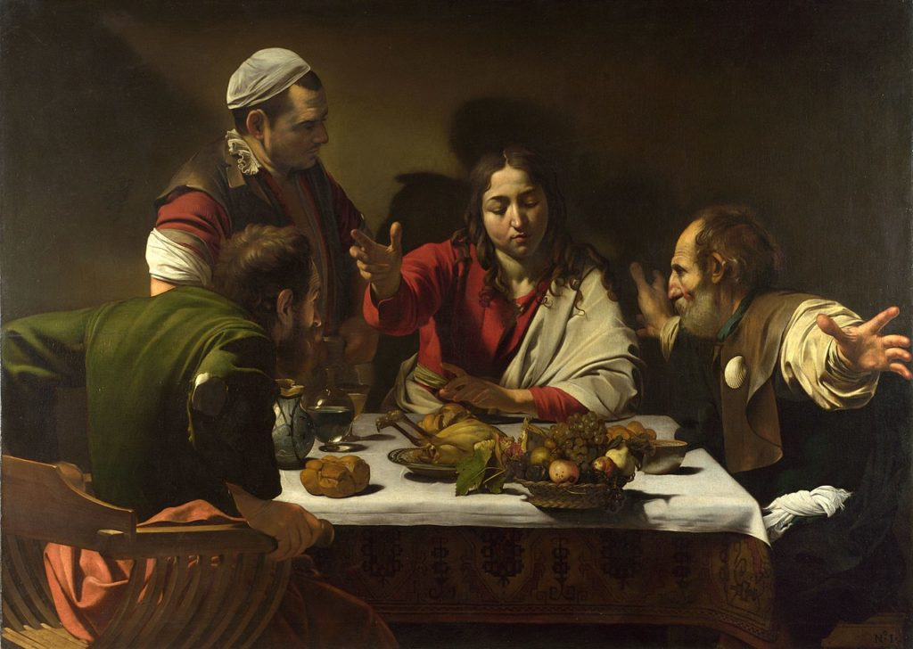 1280px 1602 3 caravaggiosupper at emmaus national gallery london