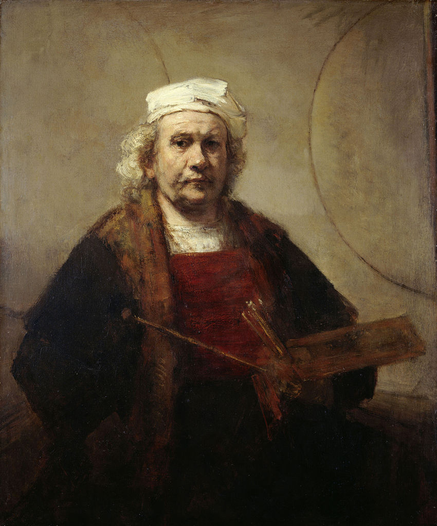rembrandt self portrait kenwood