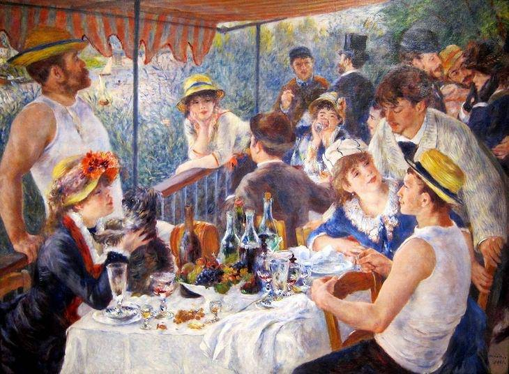 luncheon of the boating party 1880 1881 renoir