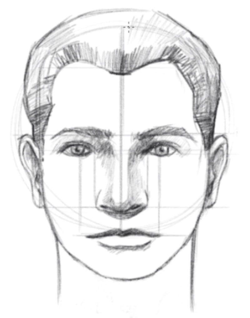 how to draw a face setp eleven draw the neck